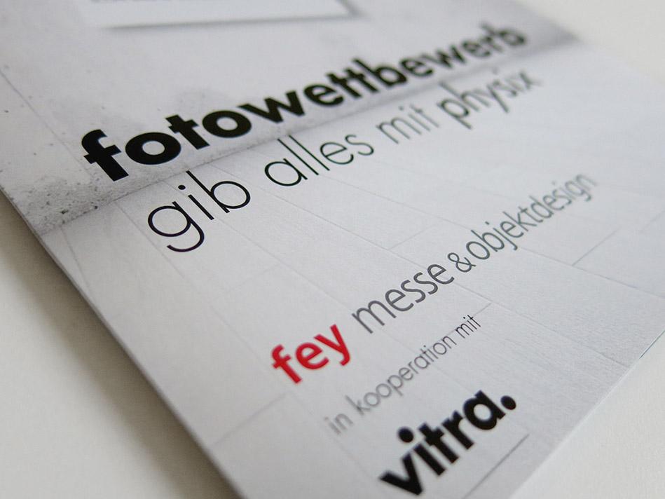 """Aksis Werbeagentur und Internetagentur Ulm - Blogeintrag Fotowettbewerb """"physix Ulm"""" Typo up close"""
