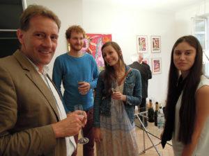 Aksis Werbeagentur und Internetagentur Ulm - Blogeintrag Kulturnacht Gäste Gruppenbild