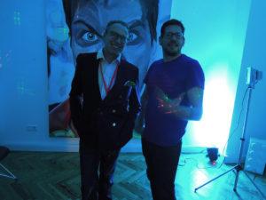 Aksis Werbeagentur und Internetagentur Ulm - Blogeintrag Kulturnacht Blaues Licht in der Agentur