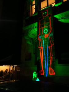 Aksis Werbeagentur und Internetagentur - Blogeintrag Kulturnacht Ulm Schwarzlicht