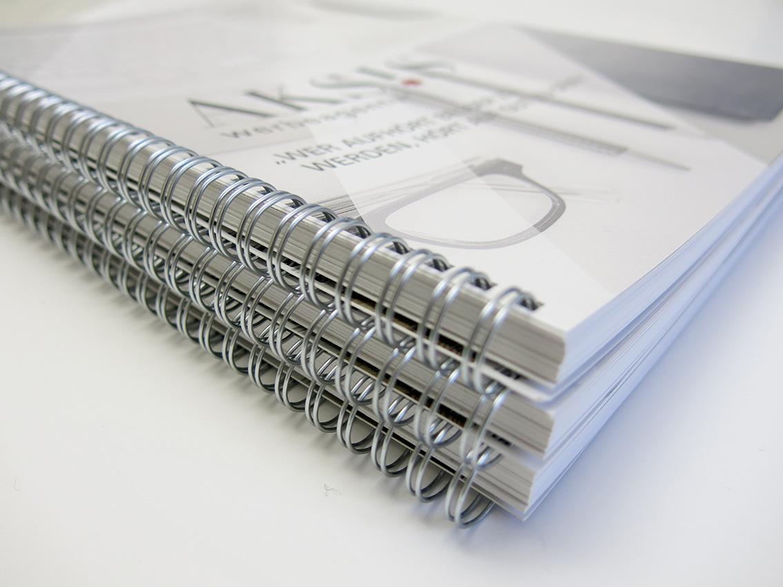 Aksis Werbeagentur und Internetagentur - Blogeintrag Imagekampagne Ringbücher