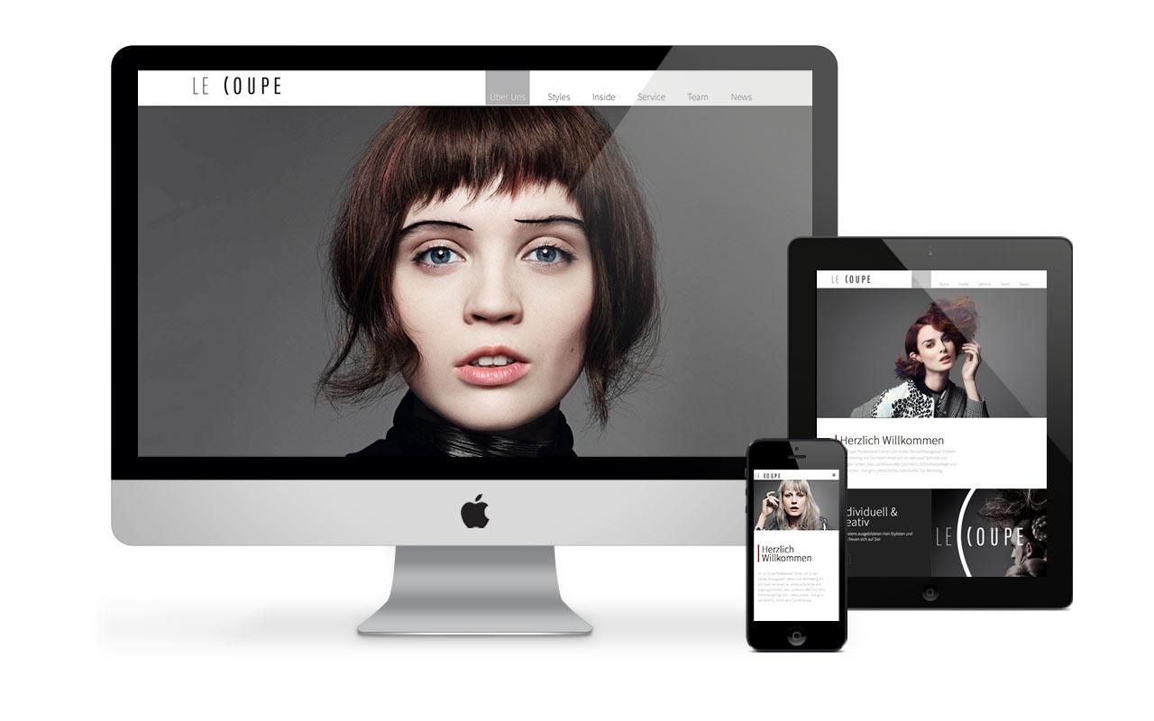 Aksis Werbeagentur und Internetagentur - Blogeintrag Webdesign lecoupe