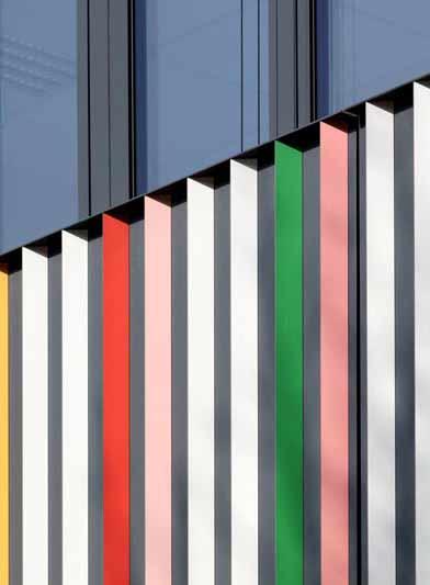 Fotografie einer Fassade des Marrahaus für HD Wahl
