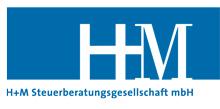 Logo von H+M Steuerberatungsgesellschaft