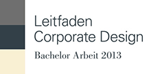 Leitfaden Corporate Design, Bachelorarbeit