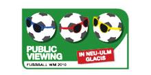 Logo für Public Viewing Glacis Neu Ulm