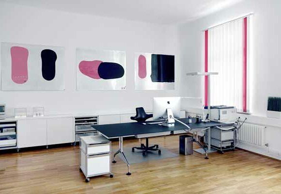 Insights - Ein Büro der Aksis Werbeagentur
