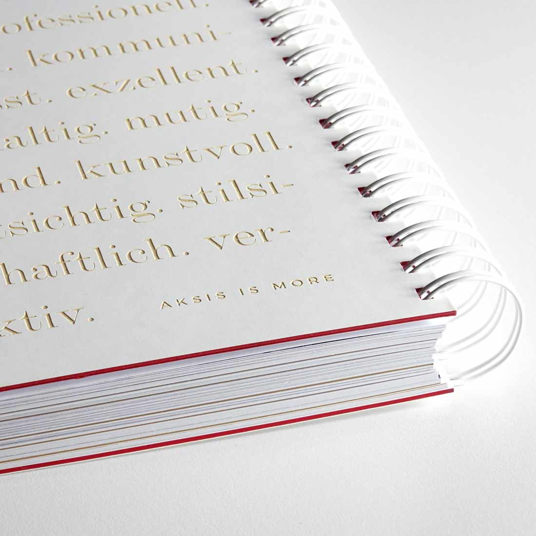 Insights - das Agenturbuch der Aksis Werbeagentur