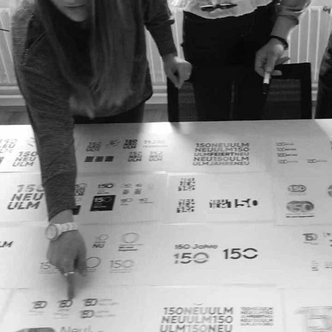 Insights - Auswahl eines Logos für 150 Jahre Stadt Neu Ulm (Thumbnail)