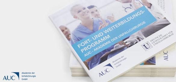 Flyer & Broschüre von AUC