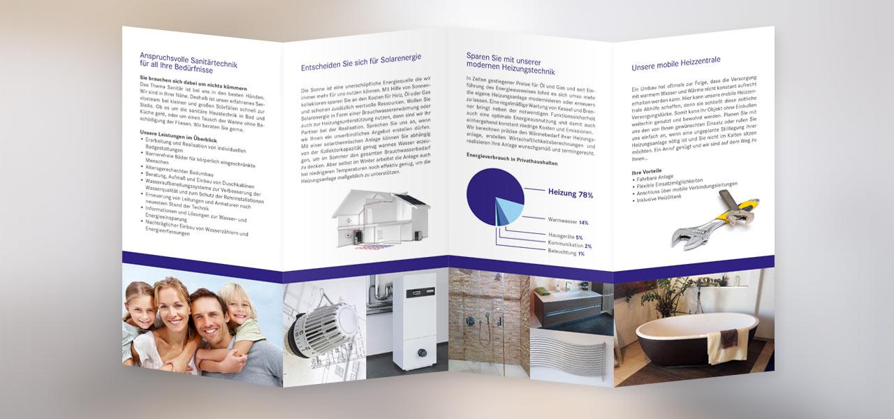 Flyer, den die AKSIS Werbeagentur für Badalli 5 entworfen hat