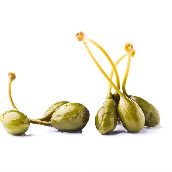 Frisch gepflückte Oliven