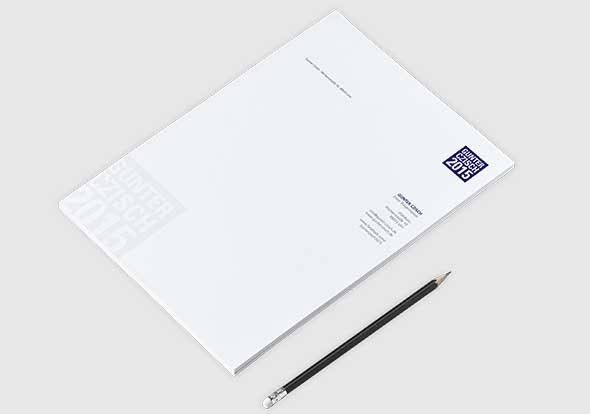 Briefbogen im Corporate Design von Gunter Czisch, Oberbürgermeister Ulm, Wahlkampf