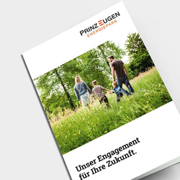 Broschüre / Zeitschrift für Prinz Eugen Energiepark