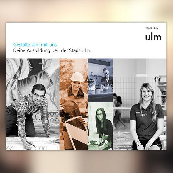 """Cross Media Kampagne für die Stadt Ulm """"Ulm sucht dich"""""""