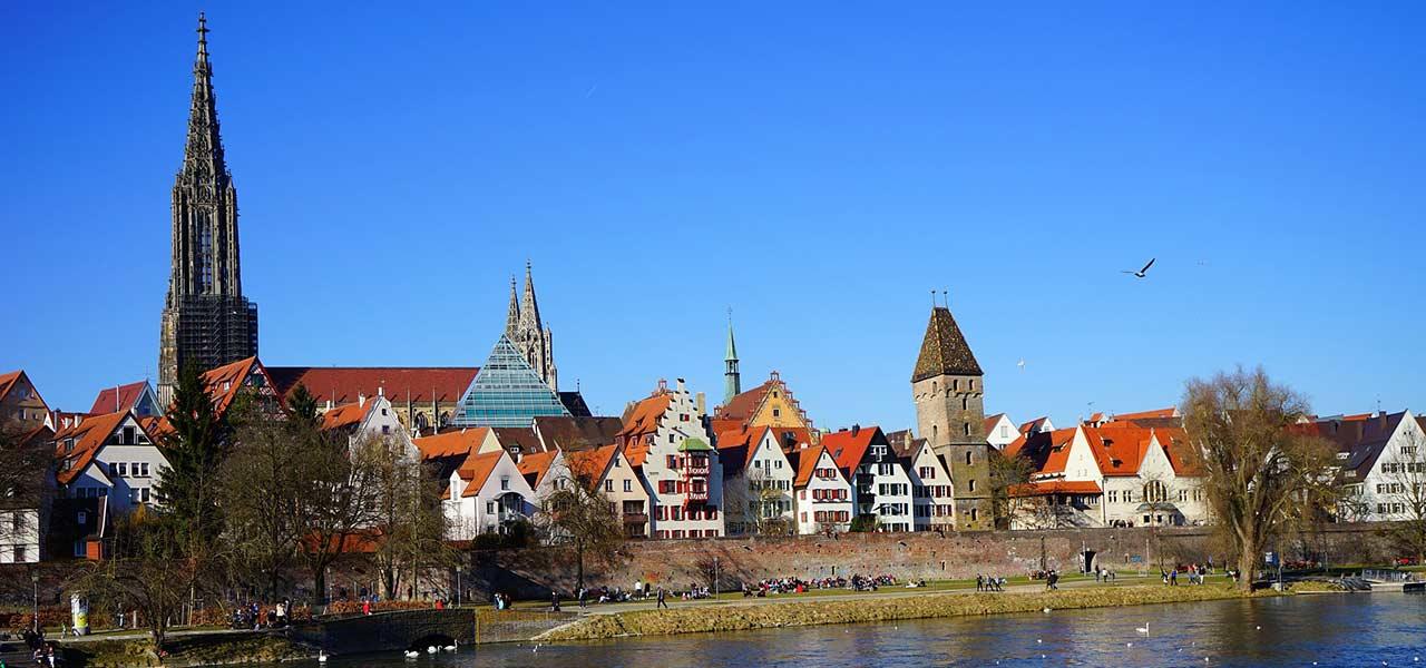 Panorama der Stadt Ulm