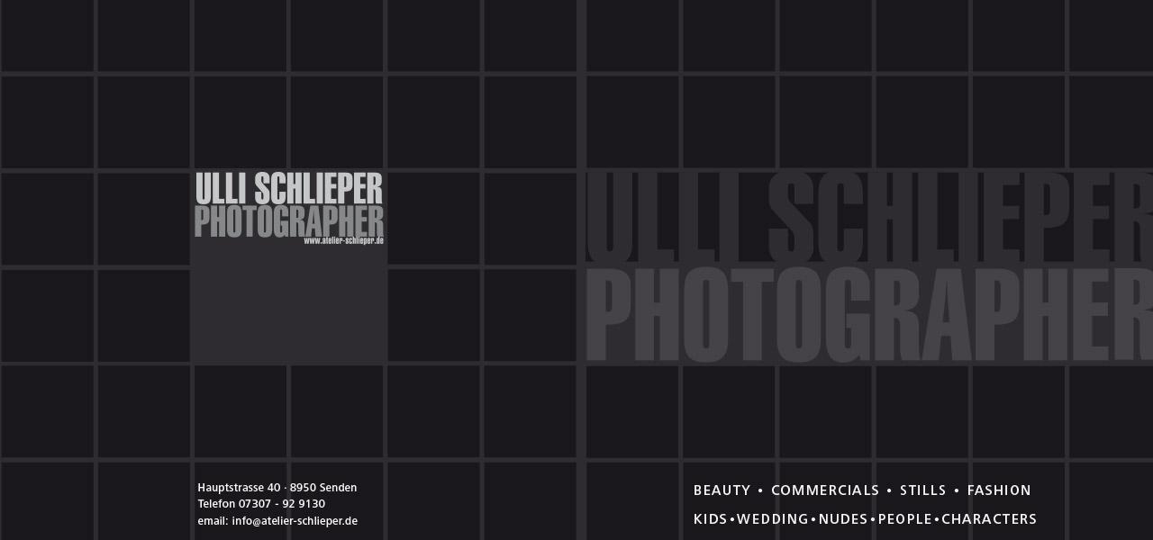 Flyer für Ulli Schlieper Fotografie