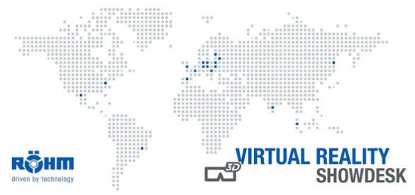 Weltkarte mit den Standorten von Röhm GmbH