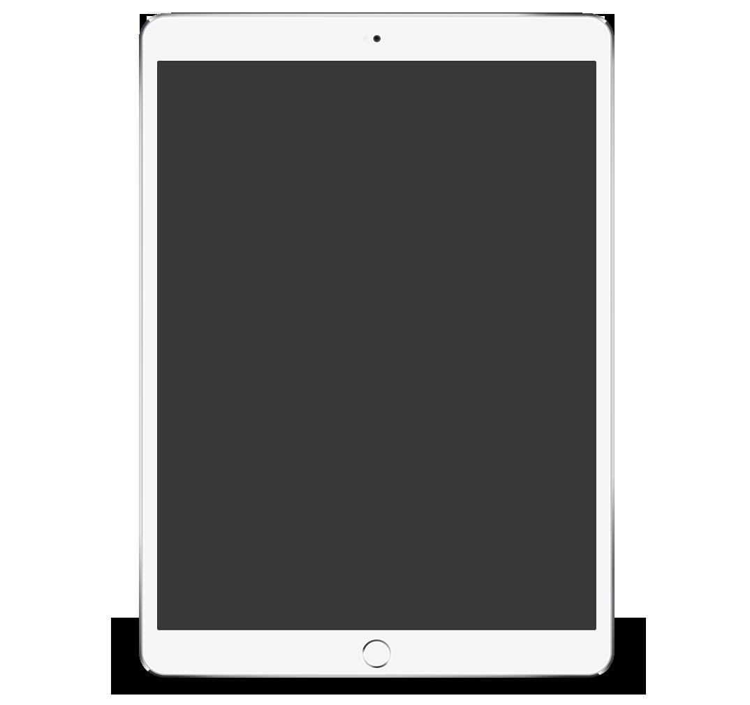 Mockup eines iPads, in dem die Aksis Werbeagentur Ulm Projekte vorstellt