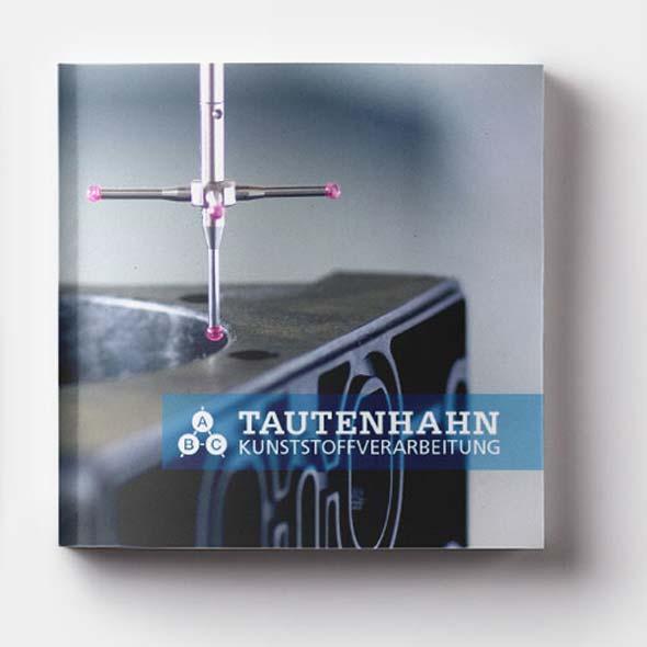 Deckblatt des Produktkatalogs bzw. der Imagebroschüre von ABC Tautenhahn.