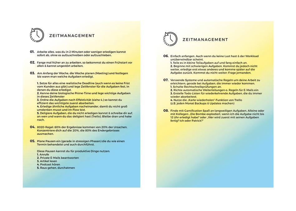 Produktivitaetsworkshop Zeitmangement | Aksis