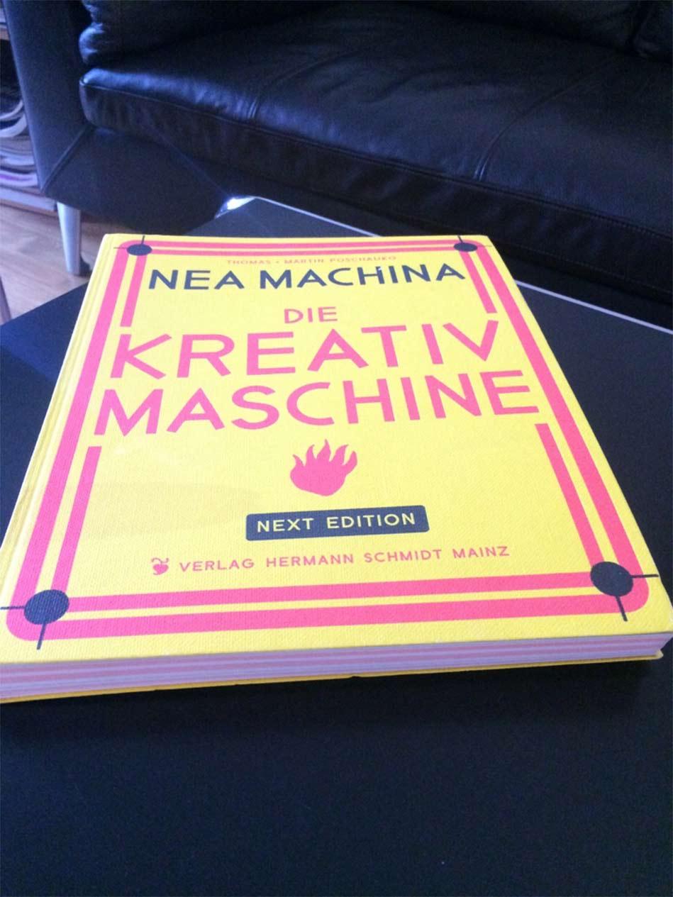 Buch Tipp Kreativmaschine| AKSIS