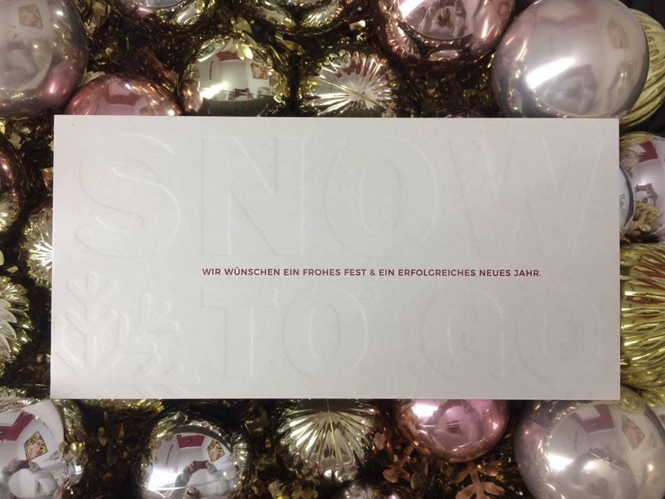 Weihnachtskarten  AKSIS