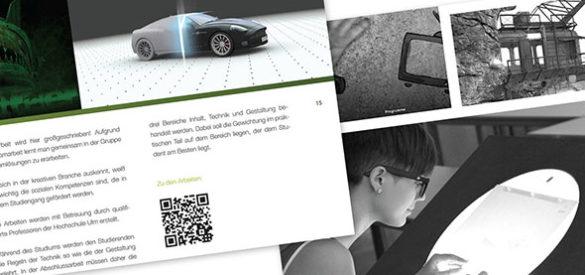 Ausschnitt aus der erstellten iPad App