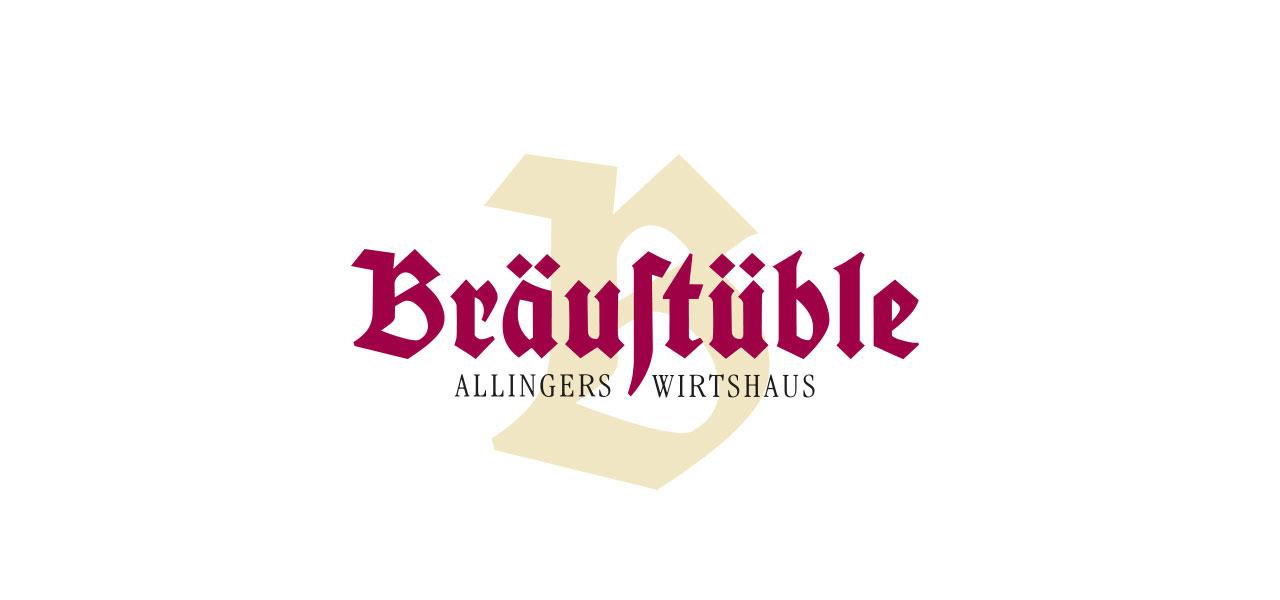 Logo von Bräustüble Allingers Wirtshaus