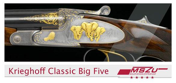 Detailansicht eines Gewehrs. Gestaltung im Stil des entwickelten Corporate Designs
