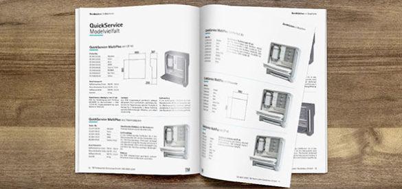 Blick in den neu gestalteten Katalog