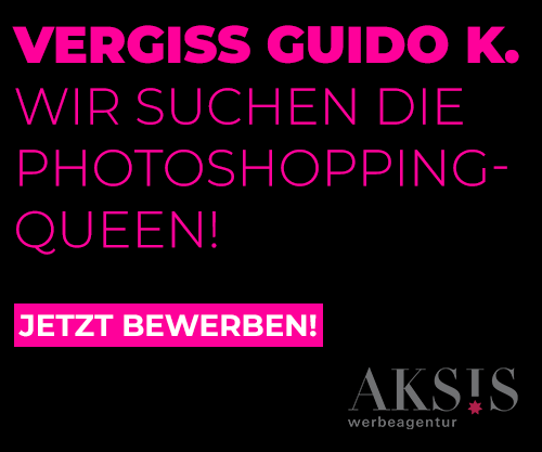 Vergiss Guido K. Wir suchen die Photoshoppingqueen