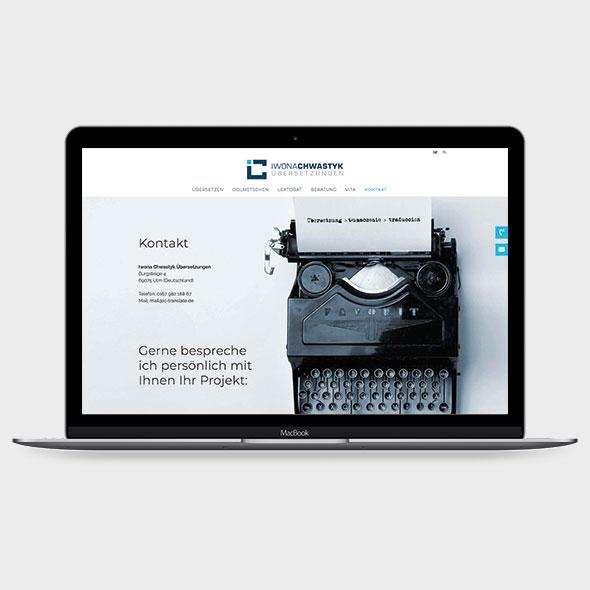 Iwona Chwastyk Webdesign 3