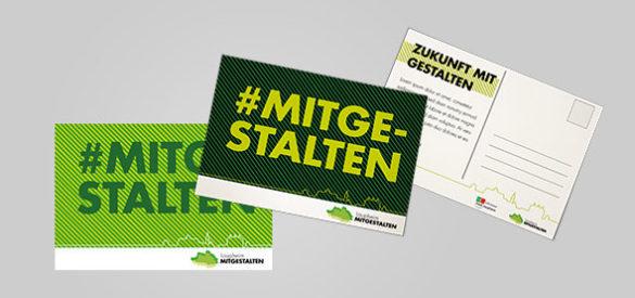 Stadt Laupheim Postkarte