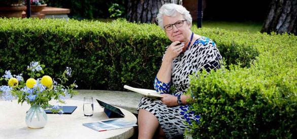 Annette Schavan in Rom