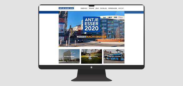 Antje Esser Website
